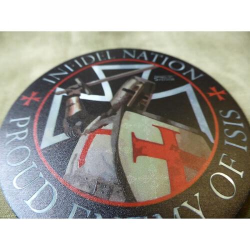 JTG Infidel Nation Patch, fullcolour