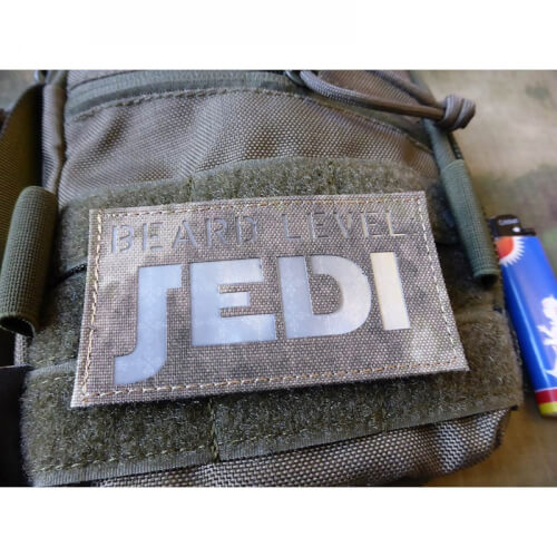 JTG BEARD LEVEL JEDI Prismatic Lasercut Patch, ATACS AU
