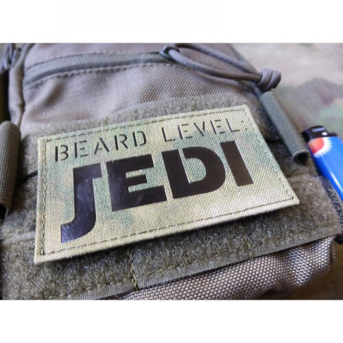 JTG BEARD LEVEL JEDI, Atacs FG / Infrarot Patch, custom made