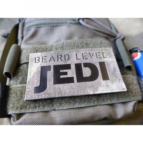 JTG BEARD LEVEL JEDI, Atacs AU / Infrarot Patch, custom made