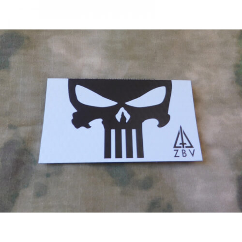 JTG Punisher - Infarot Patch, light-grey