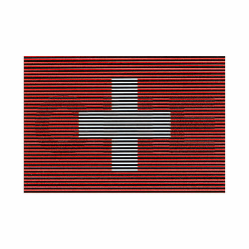 Clawgear Dual IR Switzerland Patch, Color