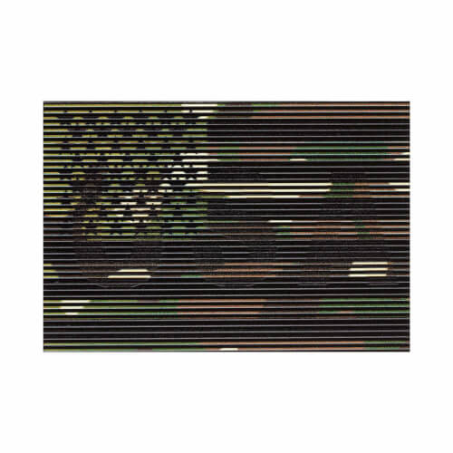Clawgear Dual IR USA Patch, Multicam