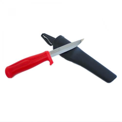 Morakniv Craftline KJ Eriksson Proff/Partner Allround Knife Messer - Rot
