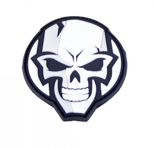 JTG GEARJUNK SKULL 3D Rubber Patch
