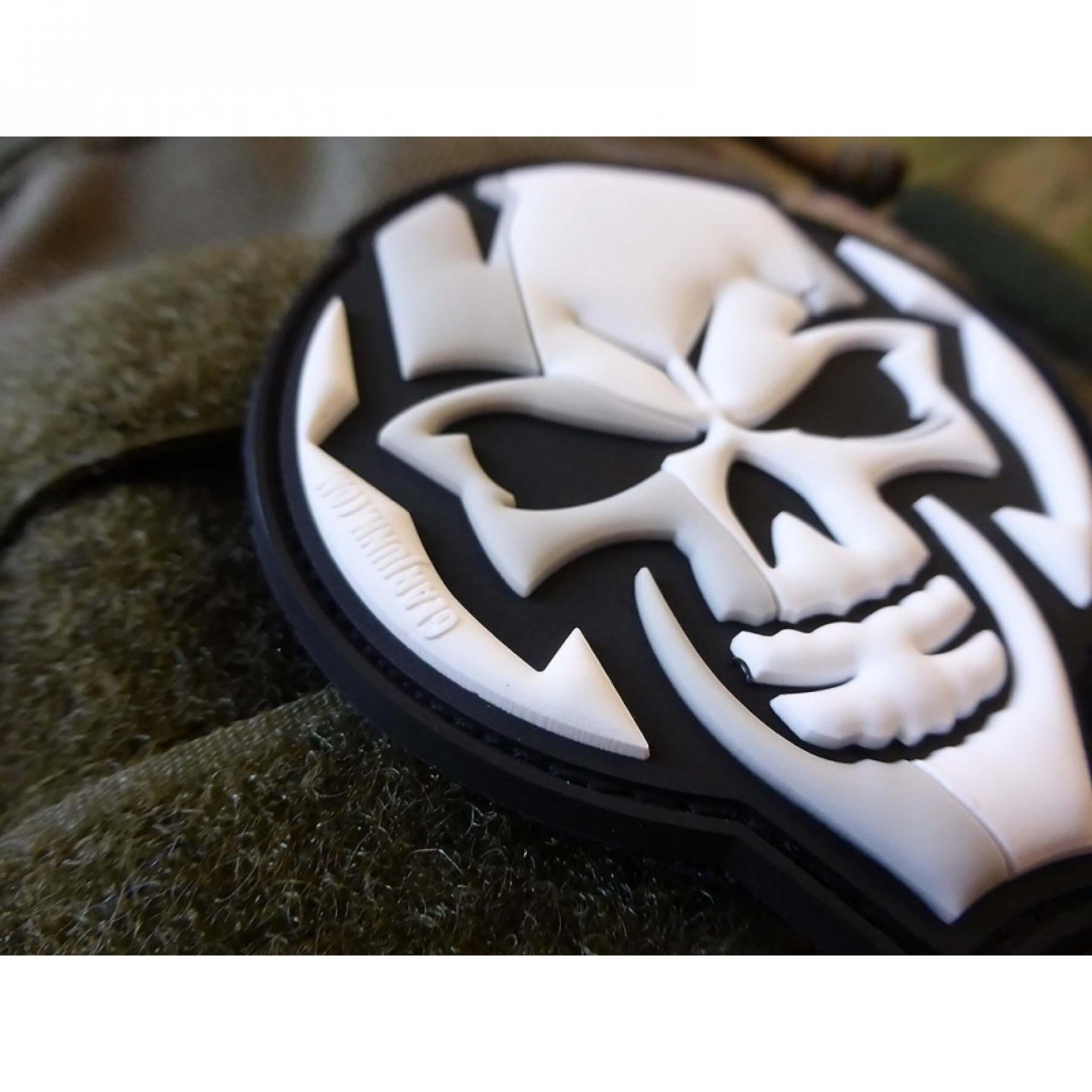 JTG GEARJUNK SKULL 3D Rubber Patch