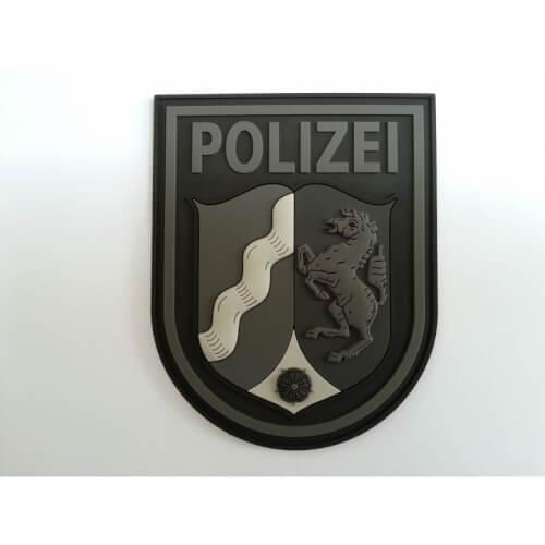 Patch - Ärmelabzeichen - Polizei NRW Nordrhein-Westfalen blackops 3D