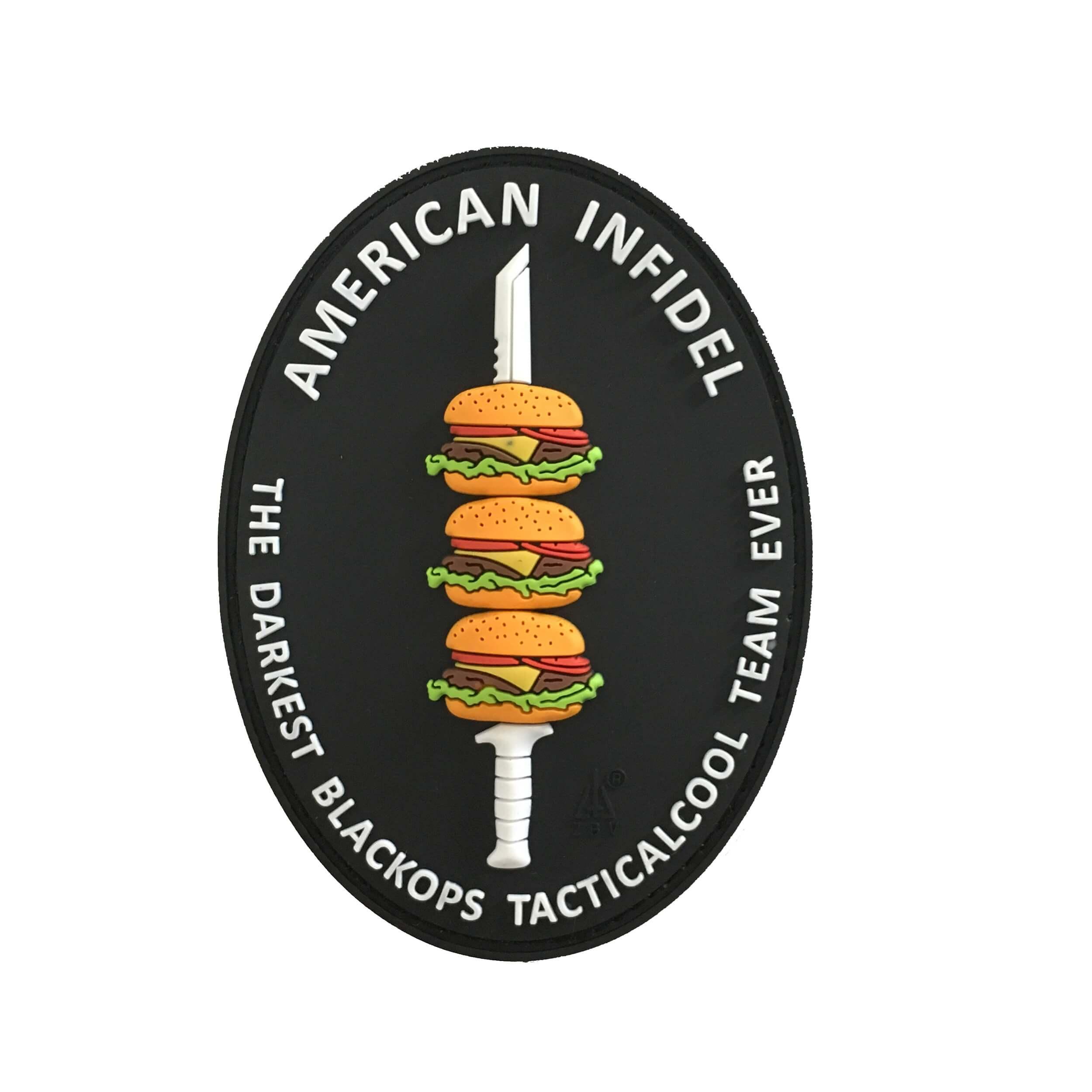 JTG - Royal TS (Tactical Specialist) Patch / JTG 3D Rubber patch