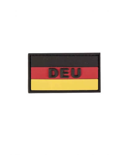 "Mil-Tec BW BW Patch 3D ""DEU"" PVC m. Klett small fullcolour"