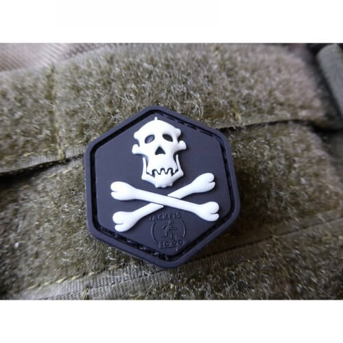 JTG Gorilla Hunter Skull cat eye Patch / 3D Rubber Patch