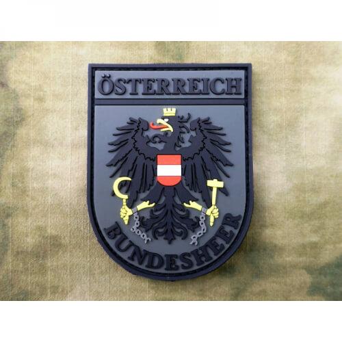 JTG Ärmelabzeichen Österreich Bundesheer, olive drab fullcolour / 3D Rubber Patch