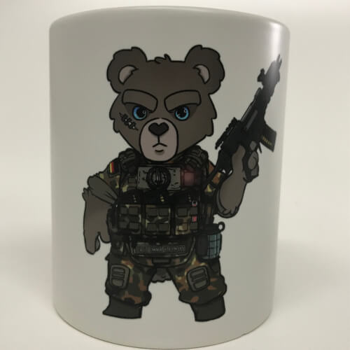 Tactical KSK Teddy  - Kaffeetasse