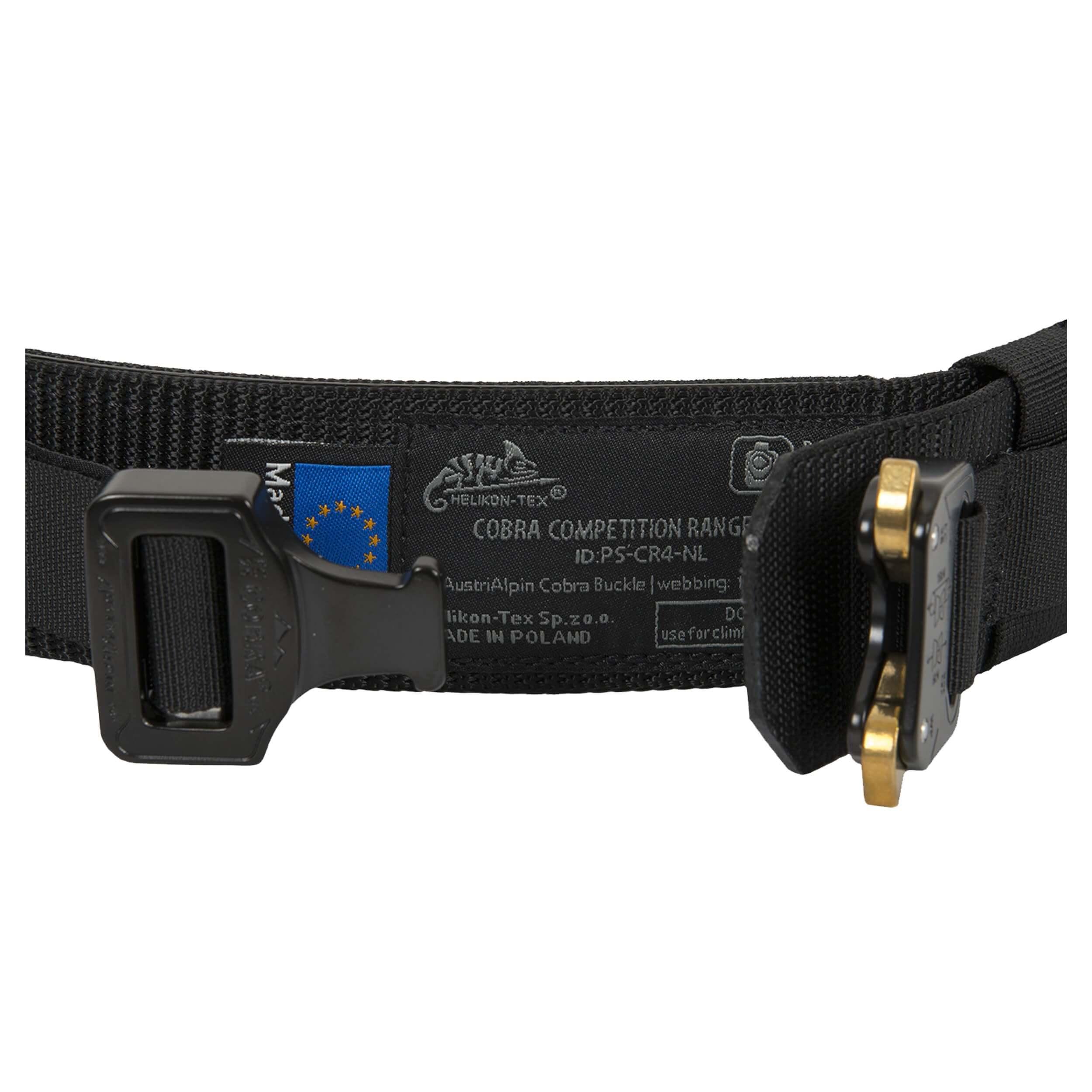 Helikon-Tex Cobra Competition Range Gürtel (45mm) - Schwarz