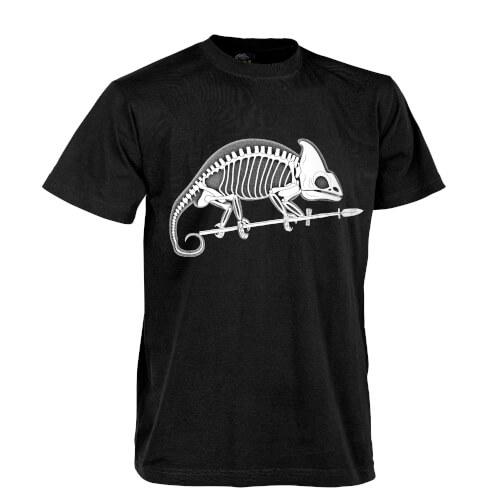 Helikon-Tex T-Shirt Chameleon Skeleton Schwarz