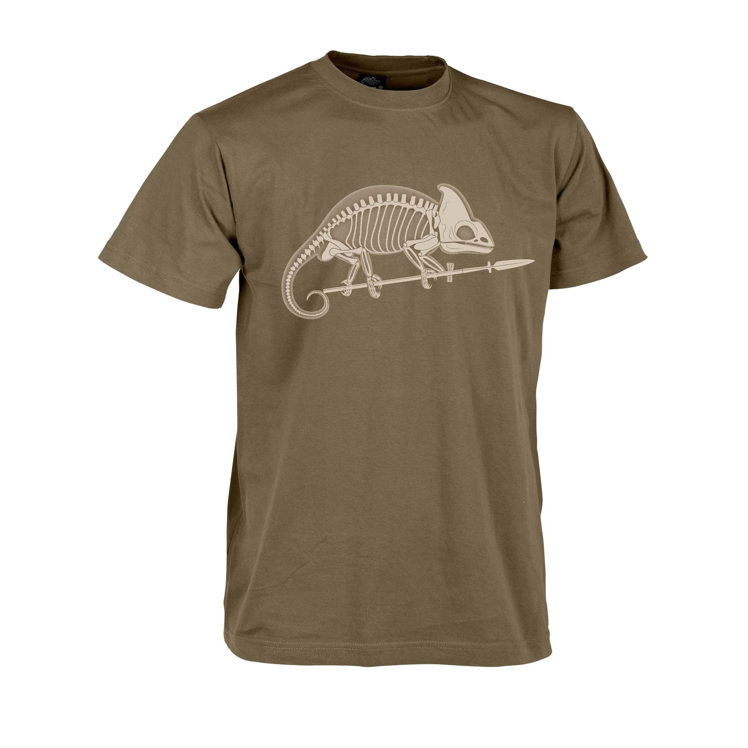 Helikon-Tex T-Shirt Chameleon Skeleton Coyote