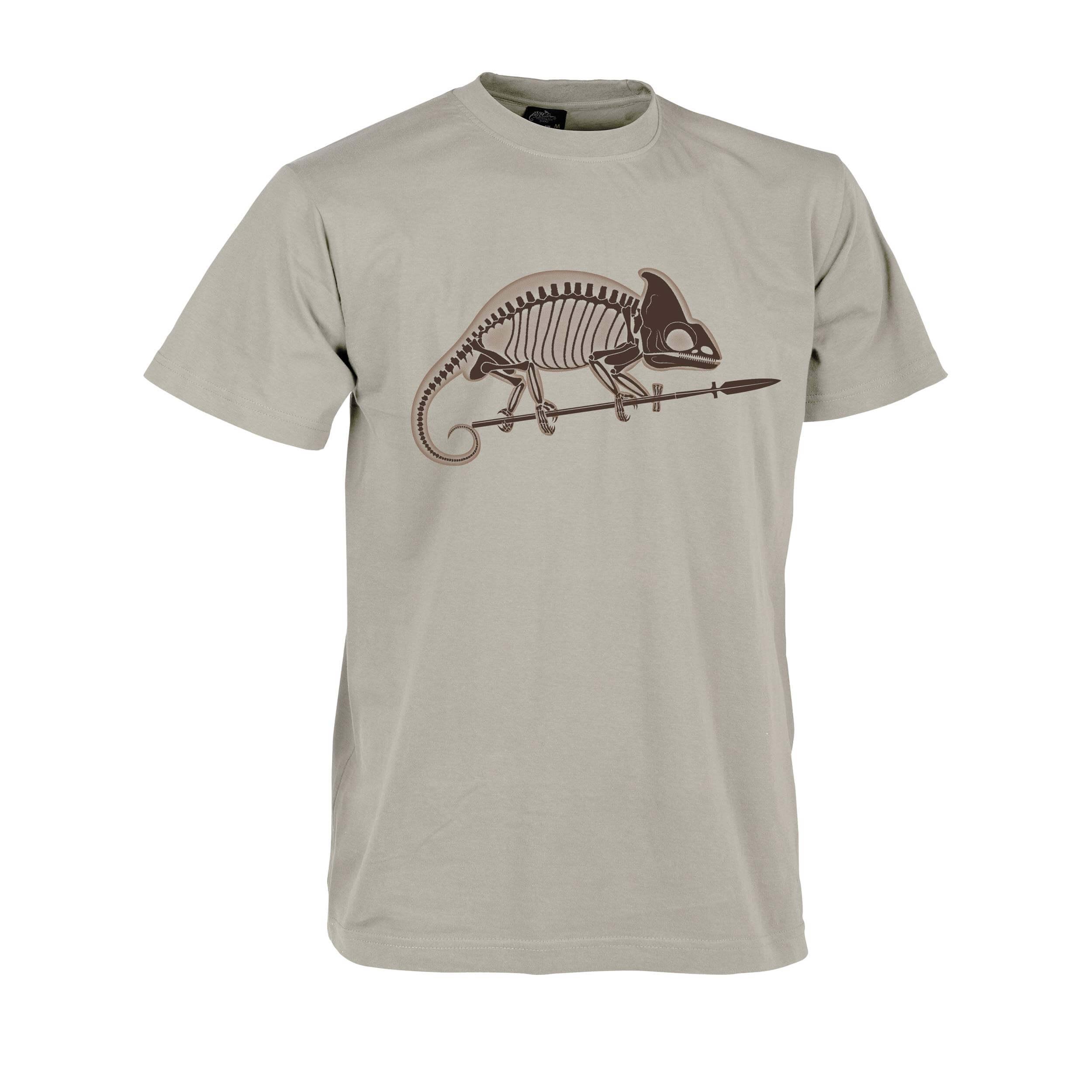 Helikon-Tex T-Shirt Chameleon Skeleton Khaki