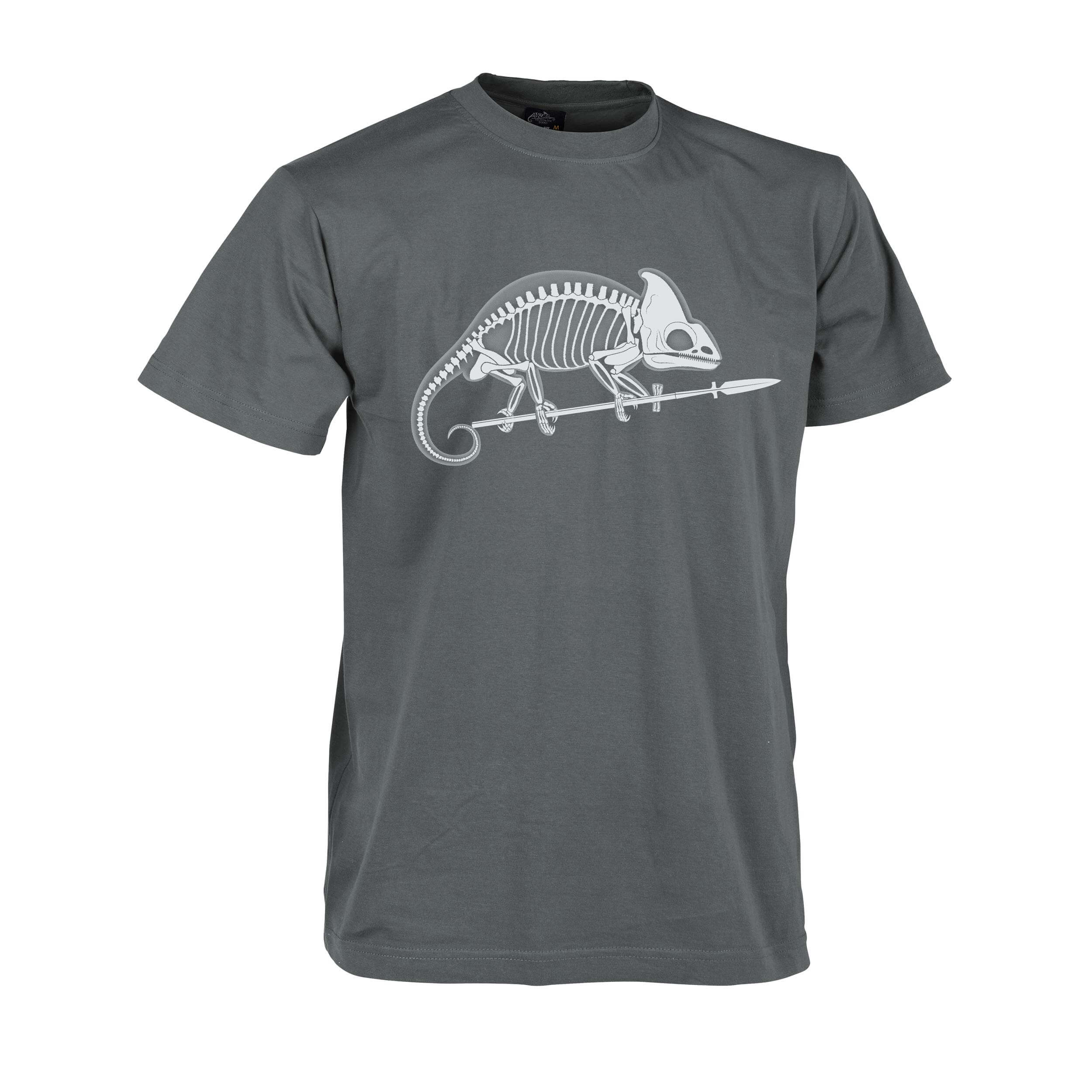 Helikon-Tex T-Shirt Chameleon Skeleton Shadow Grey