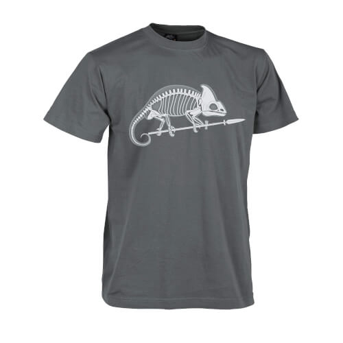 Helikon-Tex T-Shirt Chameleon Skeleton Shadow Grey
