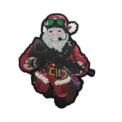 TACTICAL SANTA CLAUS CHRISTMAS - PATCH