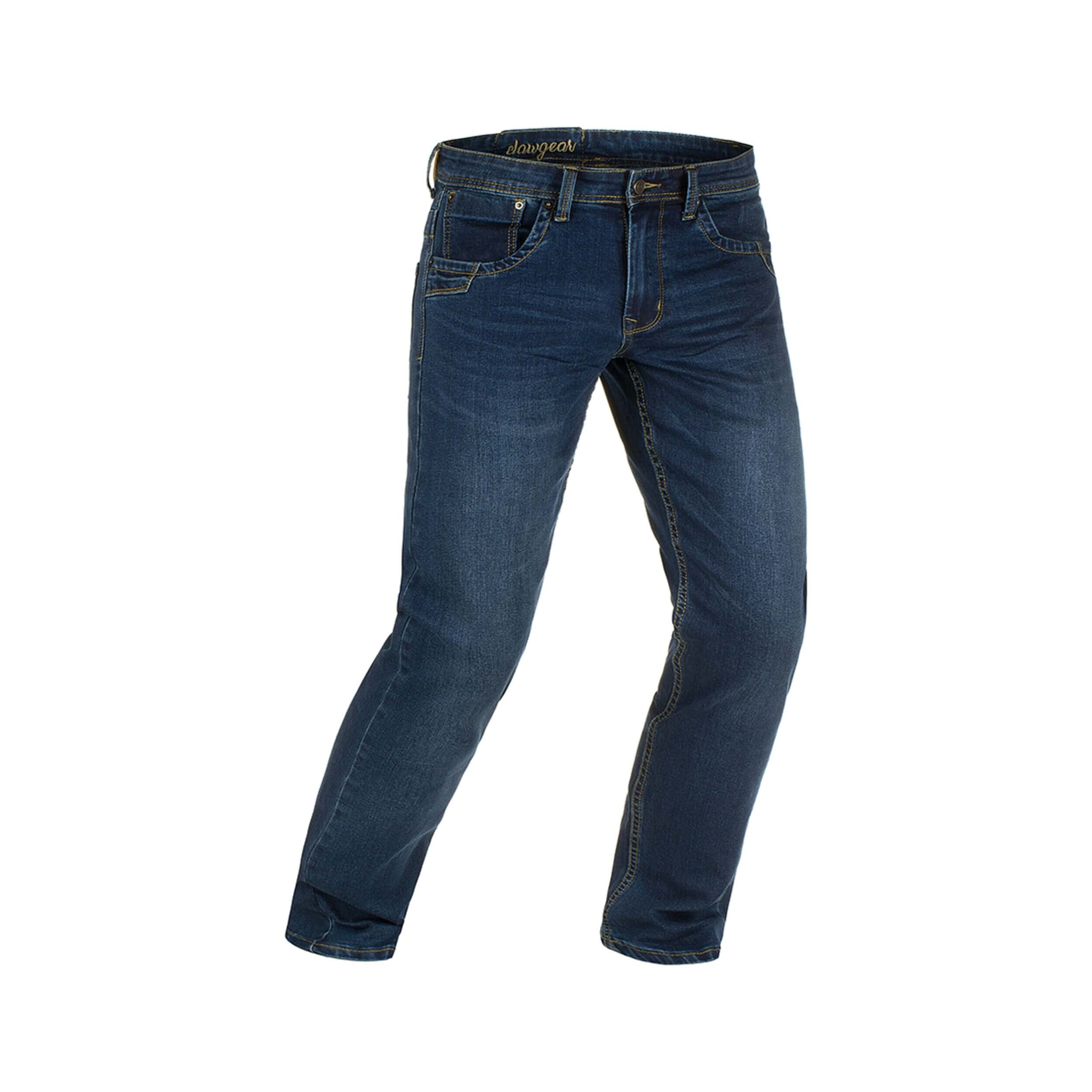 Clawgear Blue Denim Tactical Flex Jeans Washed Sapphire