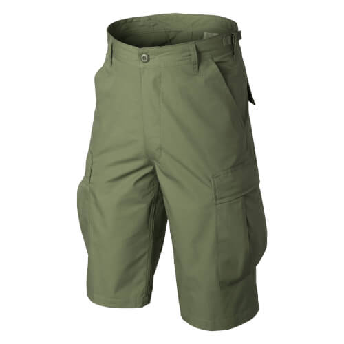 Helikon-Tex BDU Shorts -Cotton Ripstop- Olive Green