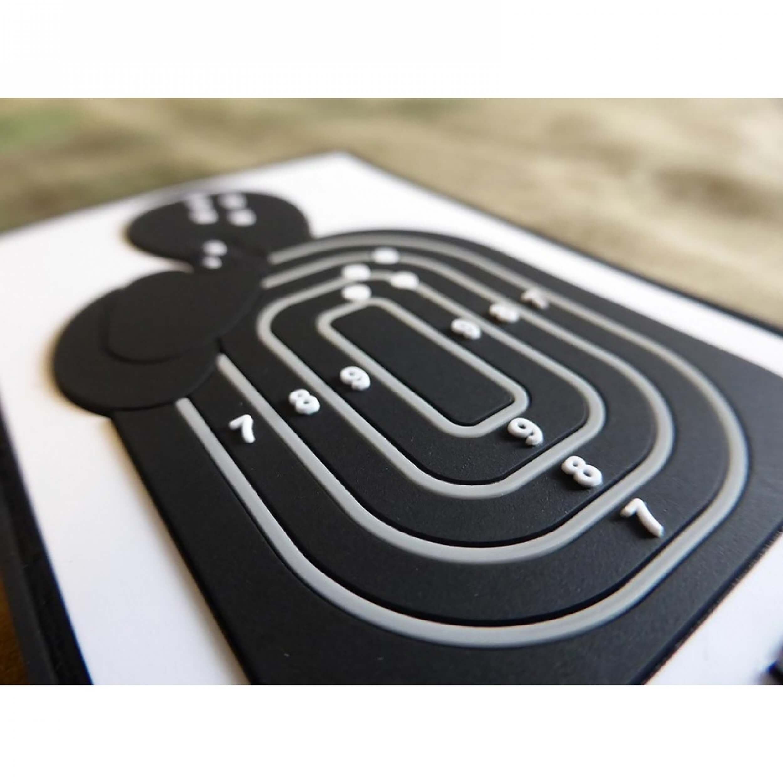 JTG Business Card Patch, fullcolor / JTG 3D Rubber Patch