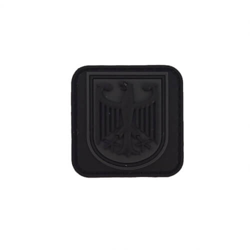 JTG kleiner Bundespolizei Patch, blackops / JTG 3D Rubber Patch