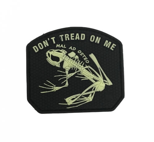 JTG DON´T TREAD ON ME FROG Patch, gid