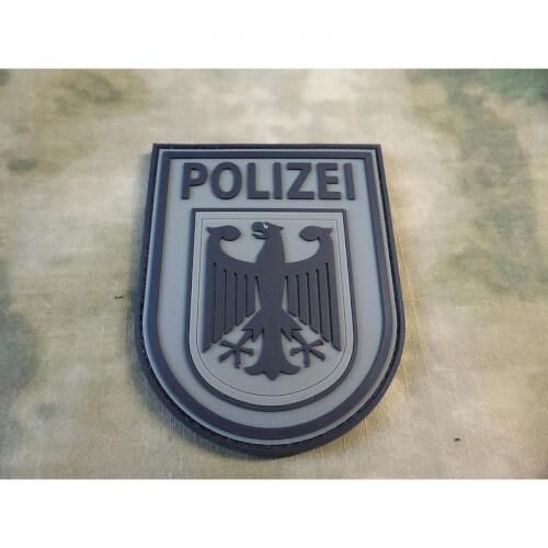 JTG Ärmelabzeichen Bundespolizei, steingrau-oliv