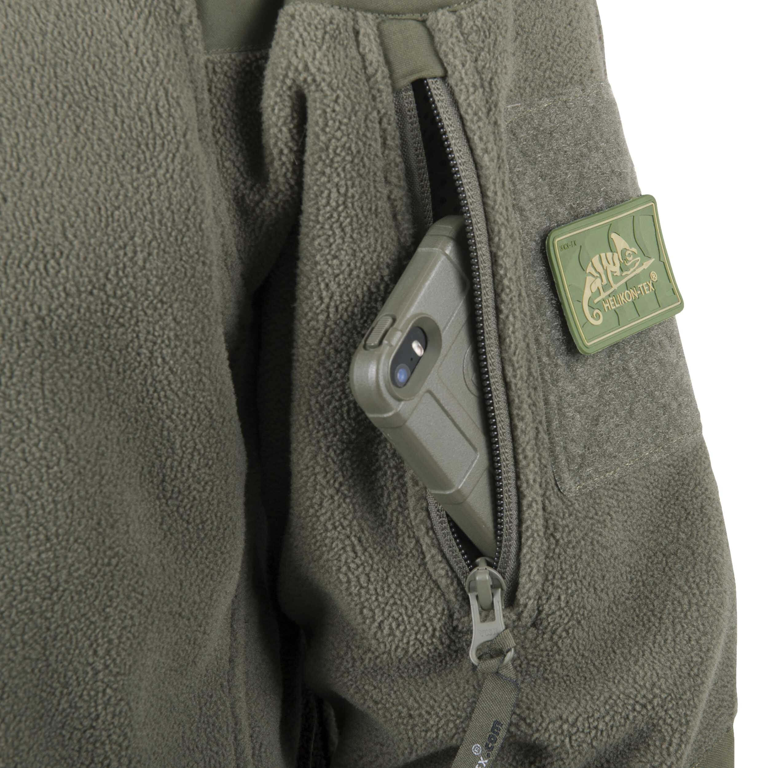 Helikon-Tex Cumulus Jacke -Heavy Fleece- Taiga Green