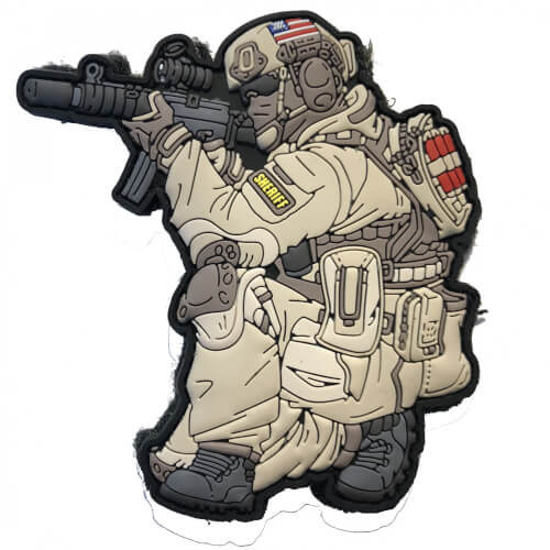 SOF - Operator Patch - US Sheriff
