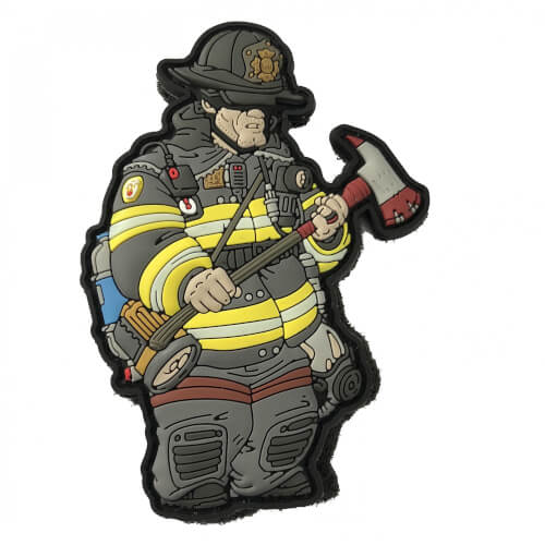 Service Man Firefighter Operator Patch - NYFD GITD Fireman