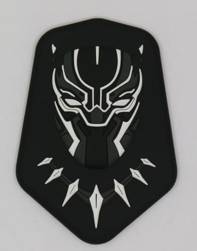 Black Panther Fanart Logo Patch Wakanda