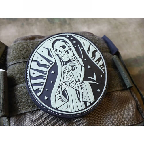 JTG Santa Muerte 3D Rubber Patch Airsoft Milsim