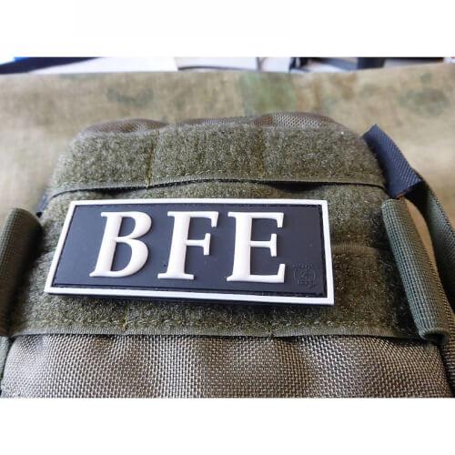 JTG Funktionsabzeichen BFE / Beweis und Festnahme Einheit Patch, swat / JTG 3D Rubber patch