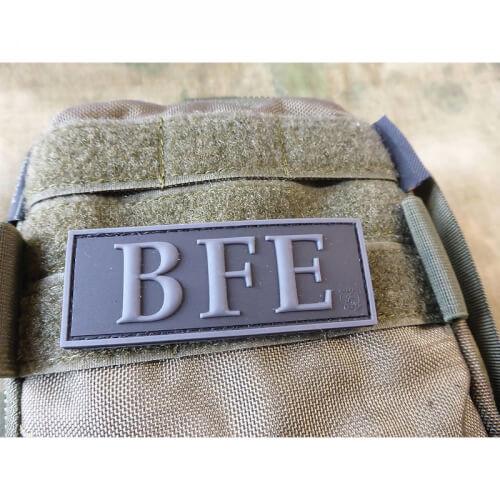 JTG Funktionsabzeichen BFE / Beweis und Festnahme Einheit Patch, blackops / JTG 3D Rubber patch