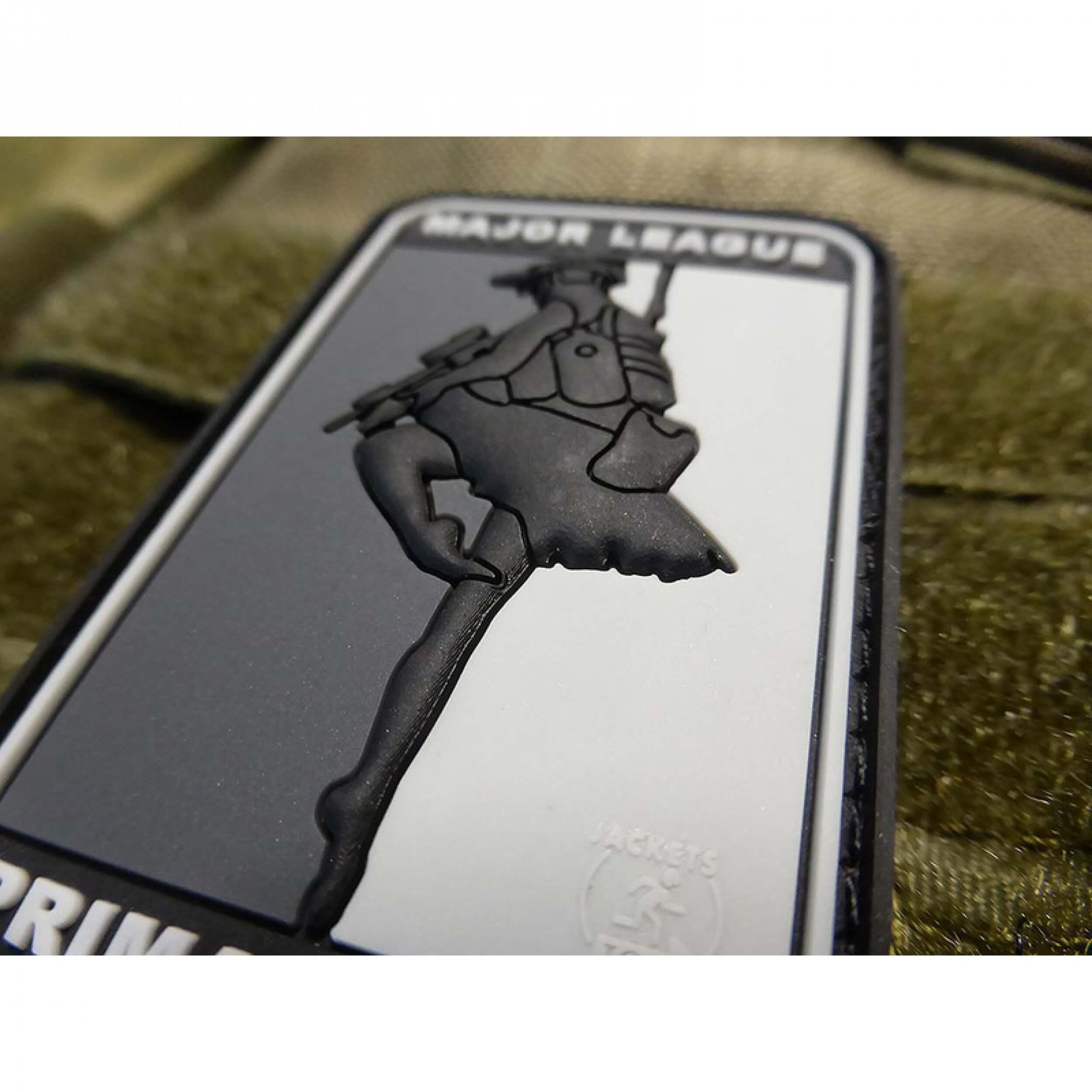 JTG MAJOR LEAGUE PRIMADONNA Patch, blackops / JTG 3D Rubber Patch