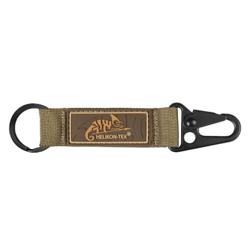 Helikon-Tex Snap Hook Keychain mit Logo -Nylon- Coyote