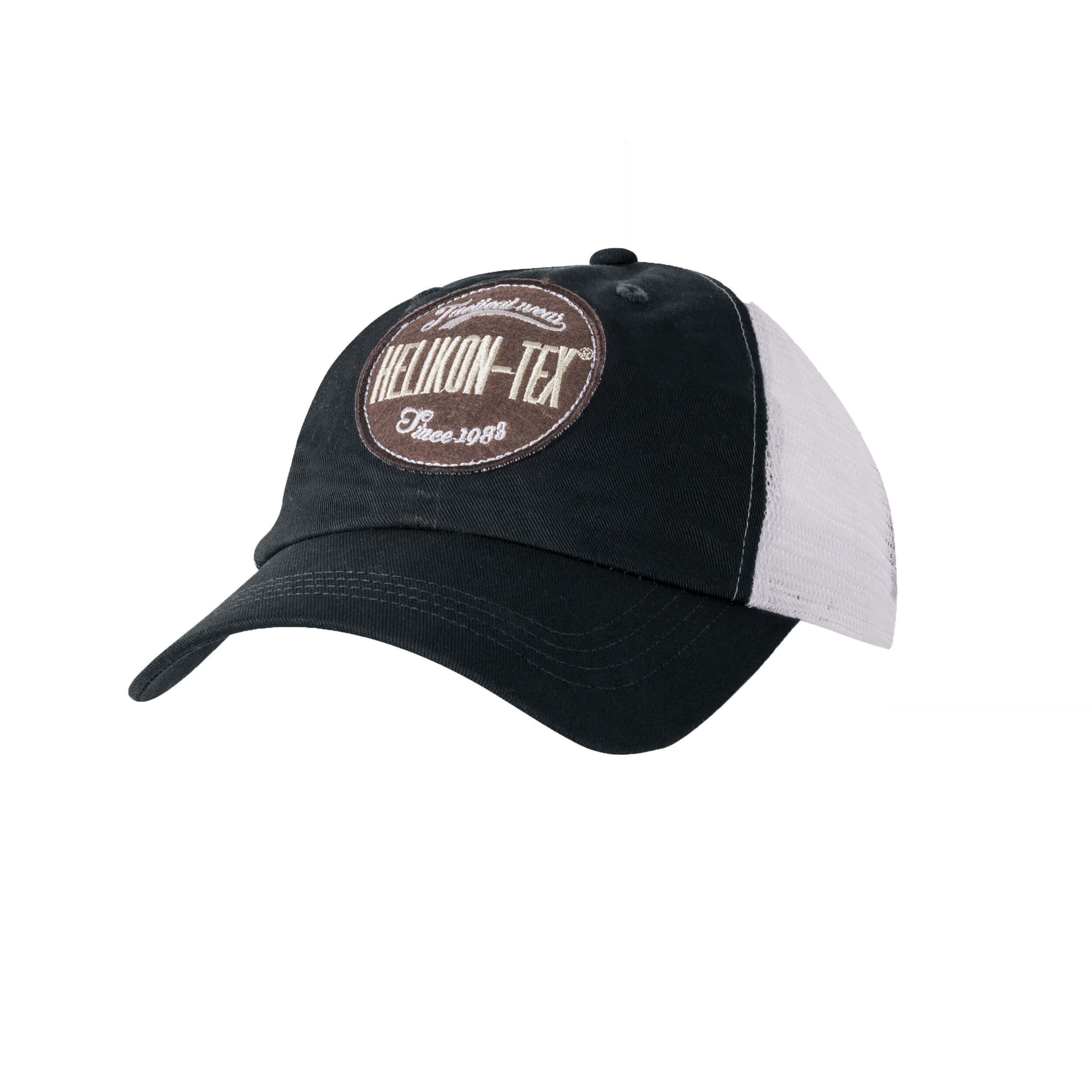 Helikon-Tex Trucker Logo Cap -Cotton Twill- Schwarz