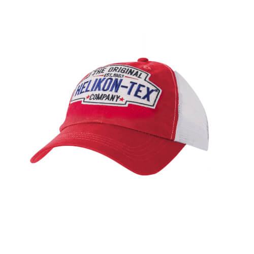 Helikon-Tex Trucker Logo Cap -Cotton Twill- Rot