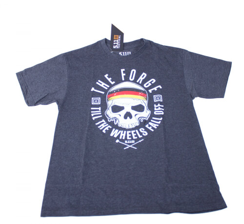 5.11 Tactical The Forge Flag Tee Special T-Shirt Shadow