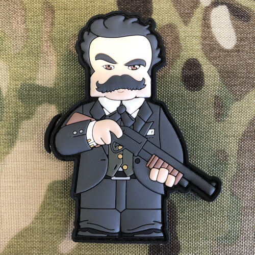 Altered Carbon Mr. Poe AI 3D PVC Patch