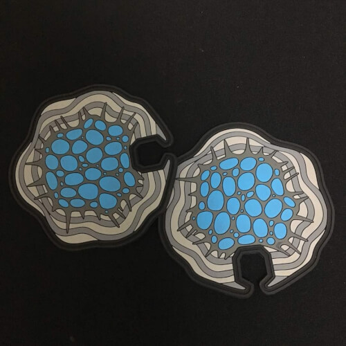 Altered Carbon - Cortical Stack 3D PVC Patch Glow in Dark