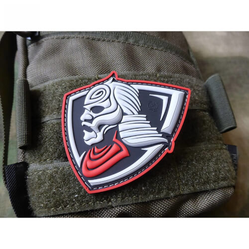 LONE WARRIOR 3D Rubber Patch