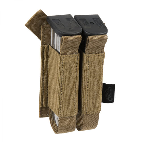 Helikon-Tex Double Pistol Magazine Insert - Polyester - Coyote