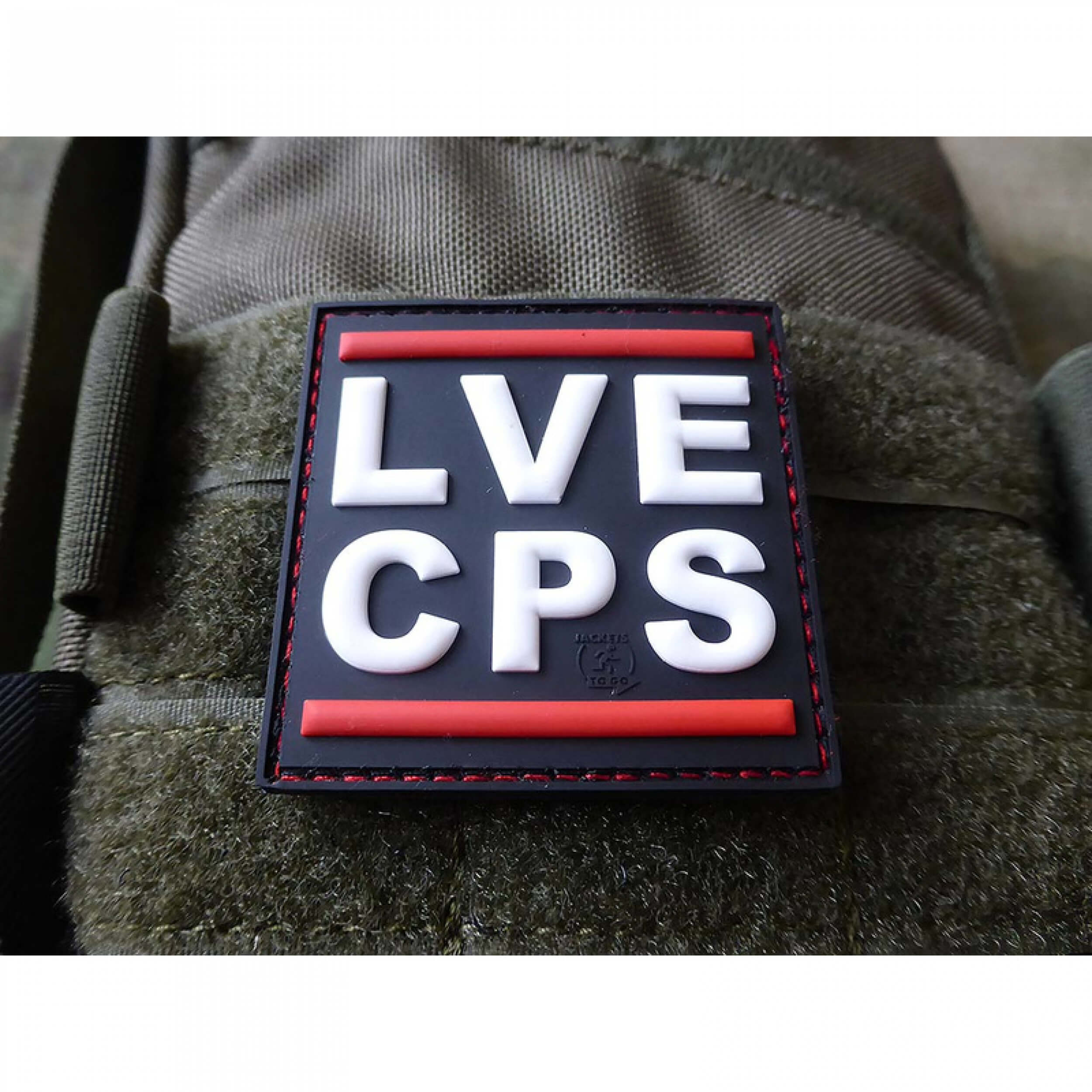 JTG LVE CPS Patch / JTG 3D Rubber Patch