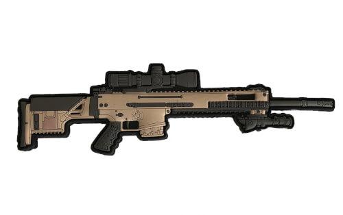 AAG - FN MK 20 MK20 SSR RIFLE PVC PATCH