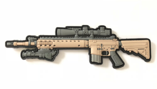 AAG -MK12 Special Purpose Rifle (SPR) PVC PATCH