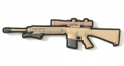 AAG - M110 SASS SNIPER RIFLE PVC PATCH