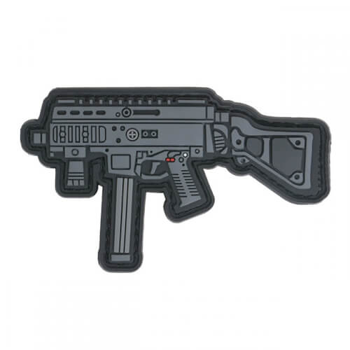APC9 GUN RIFLE AIRSOFT PVC Patch 3D